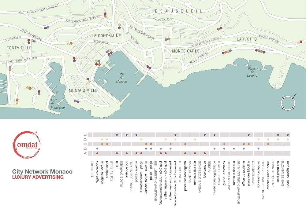 Monaco City Network Advertising